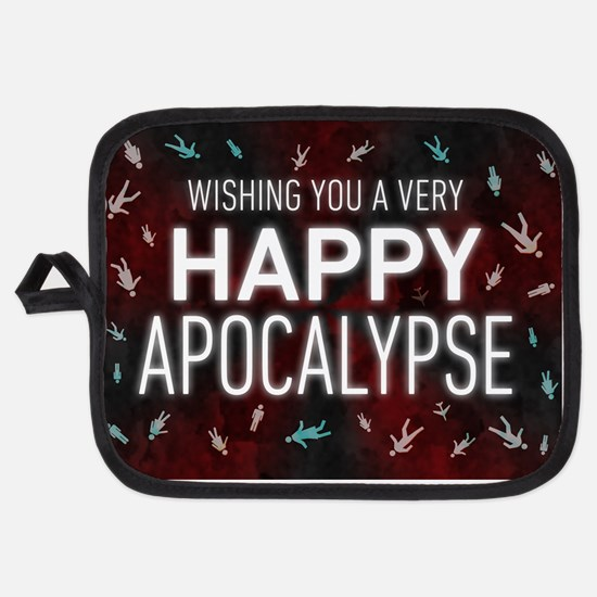 Happy Apocalypse Potholder