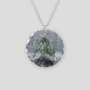 MistyAllOverBACK Necklace Circle Charm