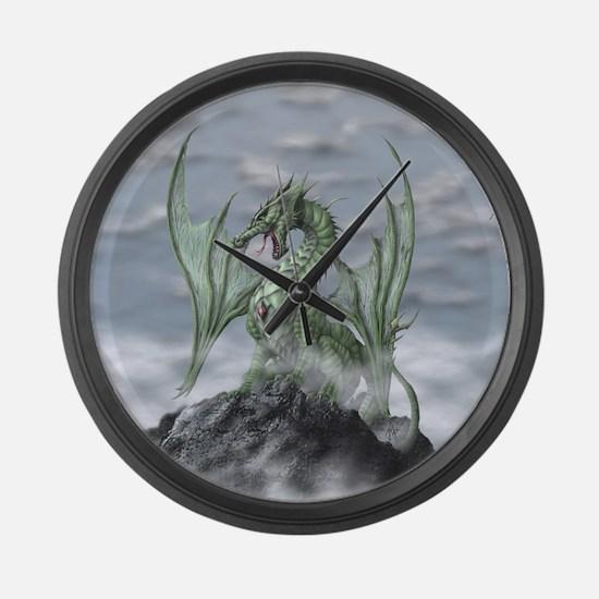 MistyAllOverBACK Large Wall Clock