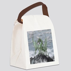 MistyAllOverBACK Canvas Lunch Bag