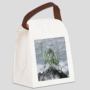 MistyAllOverBACK Canvas Lunch Bag
