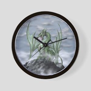 MistyAllOverBACK Wall Clock