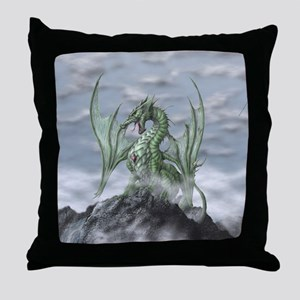 MistyAllOverBACK Throw Pillow