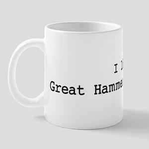 I like Great Hammerhead Shark Mug