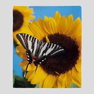 American swallowtail Throw Blanket