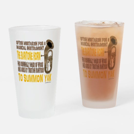 Summon Yak Drinking Glass