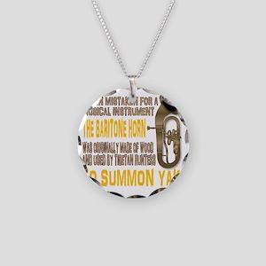 Summon Yak Necklace Circle Charm