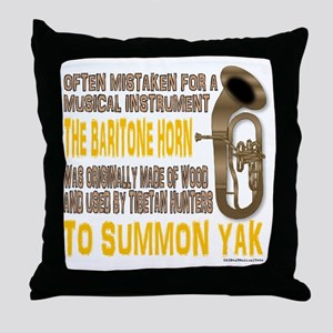 Summon Yak Throw Pillow