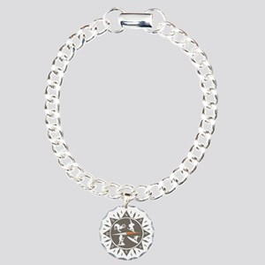 Adventure Compass Charm Bracelet, One Charm