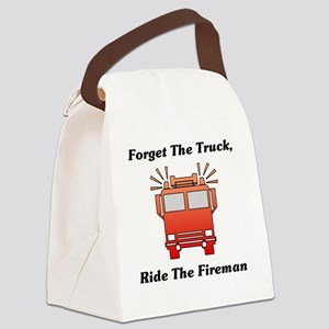 Forget The Truck, Ride The Firema Canvas Lunch Bag