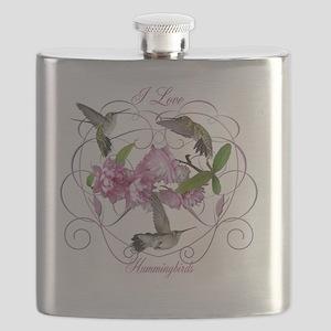 Hummingbirds Flask