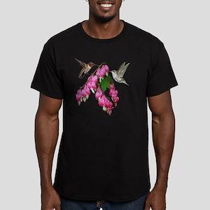 554_h_f i pod sleeve Men's Fitted T-Shirt (dark)