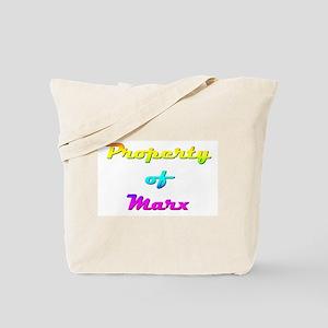 Property Of Marx Female Tote Bag