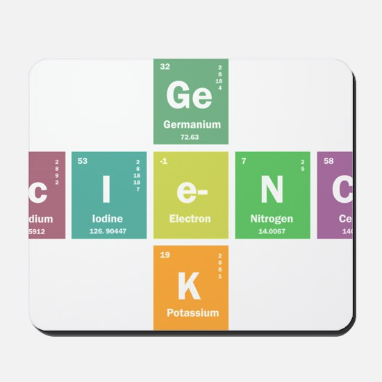 Geek science Mousepad