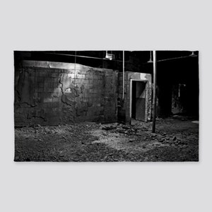 chamber of horrors 200 BW 3'x5' Area Rug