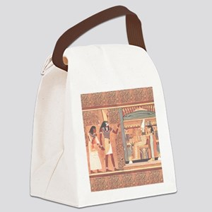 Ani Papyrus Egyptian Canvas Lunch Bag