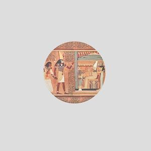 Ani Papyrus Egyptian Mini Button