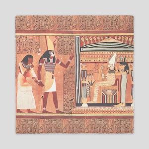Ani Papyrus Egyptian Queen Duvet