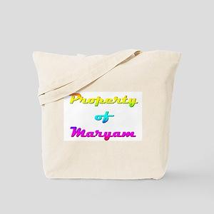 Property Of Maryam Female Tote Bag