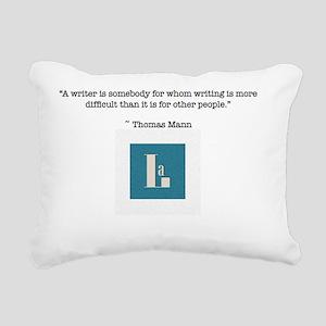 Mann Rectangular Canvas Pillow