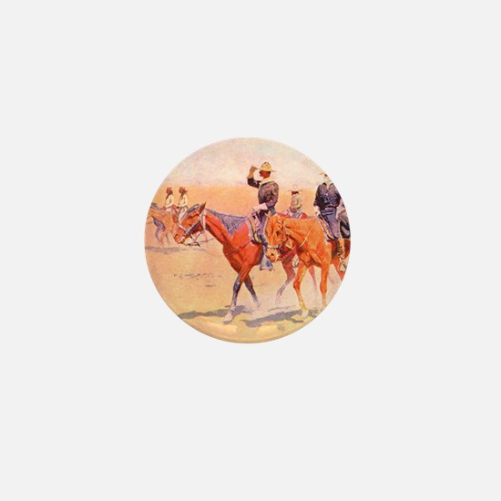 Old West Cavalry Mini Button