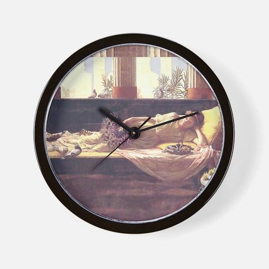 Waterhouse Dolce Far Niente Wall Clock