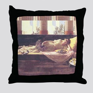 Waterhouse Dolce Far Niente Throw Pillow