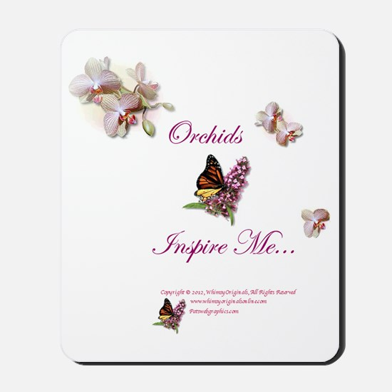 OrchidsInspire1a Mousepad