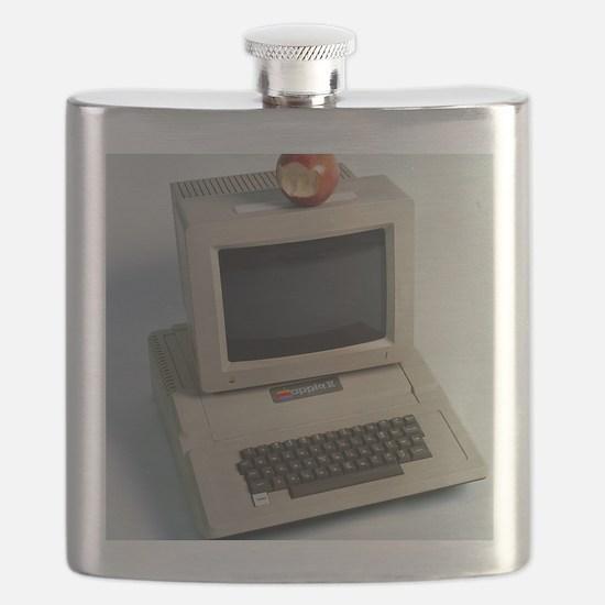 Apple II computer Flask