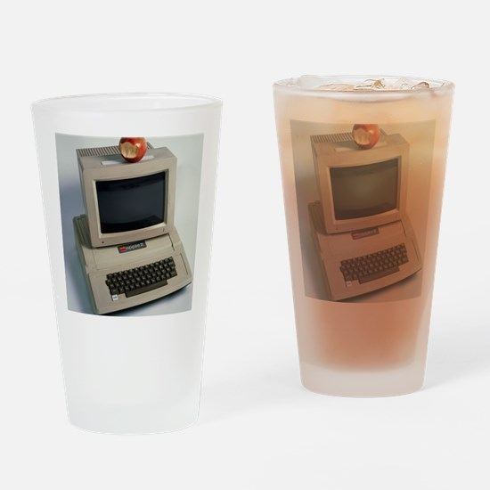 Apple II computer Drinking Glass