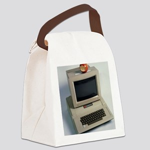 Apple II computer Canvas Lunch Bag