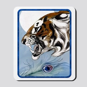 IPAD  Wild Tiger In Moonlight Mousepad