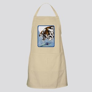 IPAD  Wild Tiger In Moonlight Apron
