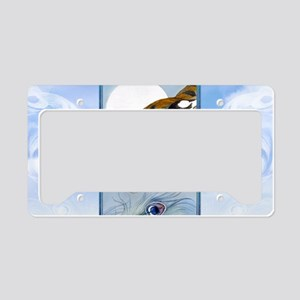 Laptop Skin Wild Tiger In Moo License Plate Holder