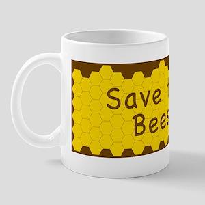 BUMPER STICKER-Save the Bees! Mug