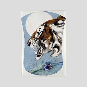 Kindle Sleeve Wild Tiger I... Rectangle Magnet