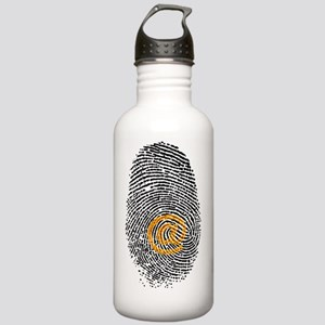 Artwork of e-mail addr Stainless Water Bottle 1.0L