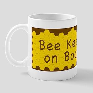 BUMPER STICKER-Bee Keeper on Board Mug