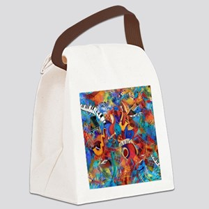 Jazz Musicians Blues Band Canvas Lunch Bag