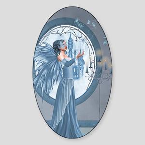 dw_84_curtains_835_H_F Sticker (Oval)
