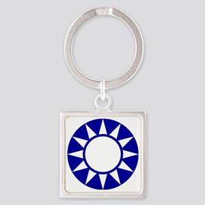 1925-1938 NCAF roundel Square Keychain