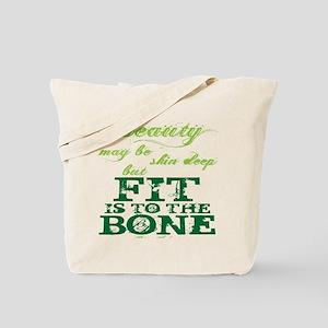 Beauty - Green Tote Bag