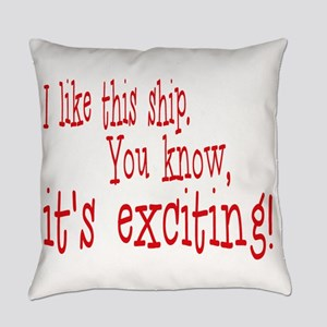 This is Exciting! Everyday Pillow