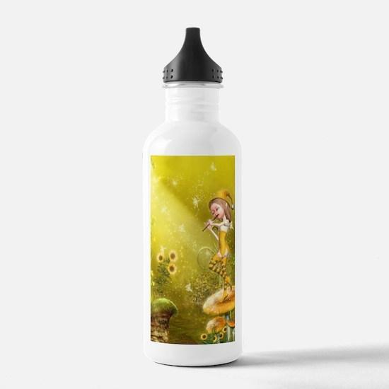 tf_car_flag_713_H_F Water Bottle