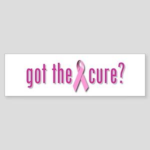 got the cure? Bumper Sticker