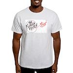 Florida Review Circle logo - Grey T-Shirt