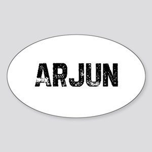 Arjun Oval Sticker