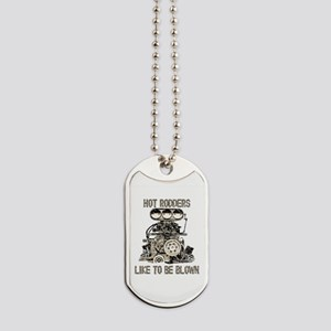 Blower11-Blown-Distressed Dog Tags