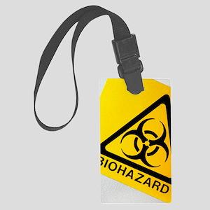 Biohazard symbol Large Luggage Tag