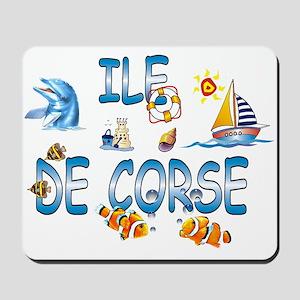 Ile de Corse Mousepad